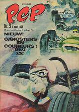 PEP 1969 nr. 09 - THE TJONG-KHING / JACK ICKX / ASTERIX/ /COMICS