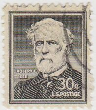 (USB46)1954 USA 30c black Robert E Lee ow1049