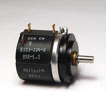 Beckman Helipot Präzisions-10-Gang Potentiometer 8103-204-0, 5 kOhm, L=0.1%