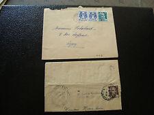 FRANCE - 1 enveloppe et 1 pli  (cy13) french