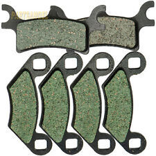 Fr&R Carbon Brake Pads For Polaris 400 450 500 600 700 800 Sportsman