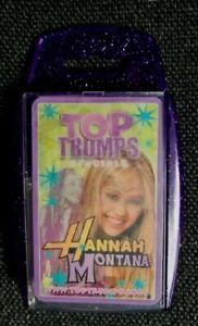 TOP TRUMPS   HANNAH  MOTANA