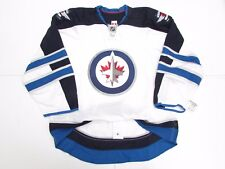 WINNIPEG JETS AUTHENTIC AWAY TEAM ISSUED REEBOK EDGE 2.0 7287 JERSEY SIZE 52