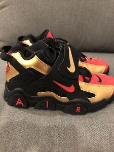 Nike Air Barrage Mid San Francisco 49ers Metallic Gold CT1573-700 Mens Size 11.5