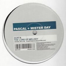 "Pascal & Mister Day - The Lure Of Melody - 12"", 4 Versions, 2002 Glasgow (GU97)"