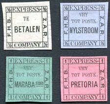South Afrika Pretoria Transvaal Local Post Bakker's Express 1887