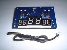 DC12V  Digital Thermostat Temperature Controller +sensor  UK Stock