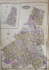 ORIG 1945 BELCHER HYDE ROSEDALE P.S. 138 QUEENS NY PLAT ATLAS MAP WITH UPDATES
