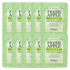 SkinFood Fresh Apple Pore Pack Sample 10Pcs Free Sample Gift