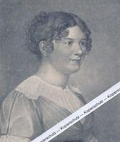 Marianne von Willemer - Andenkenblatt - um 1920 oder früher - selten