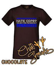 HATE COPS Police Cop Funny Policeman Joke T-shirt Vest Tshirt