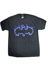 Batman logo tee t-shirt. Flaming Logo. New With Tags