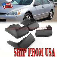 US Mudguard Mud Flaps Splash Guards Fender For 2003-2007 Honda Accord Sedan AM