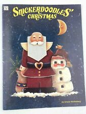 New ListingSnickerdoodles' Christmas Ursula Wollenberg Christmas Winter Tole Painting Book