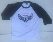 2005 Bfd Live 105 Baseball T-Shirt Black White Alternative Music Foo Fighters M