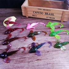 6Pcs/Set Fishing Bait Soft Fish Fly Jigging Swimbait 8cm 4.6g Wobblers Crankbait