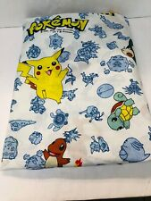 Fitted Pokémon Sheet for Double Bed Vintage Nintendo Character Bedding STAINS