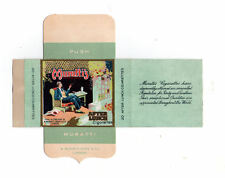 Old EMPTY cigarette packet Muratti AFTER LUNCH + slide VERY RARE pretty #097
