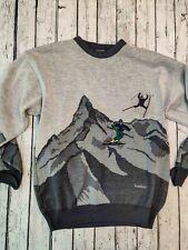 IVANHOE OF SWEDEN sweater Men's Skiiing sweater Medium M Rare