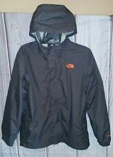 The North Face Big Boy's size XL 18-20 HyVent Dark Gray Fully Lined Rain Jacket