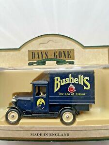 Days Gone Vintage Models: 1928 Chevrolet Box Van: Bushell's Tea.