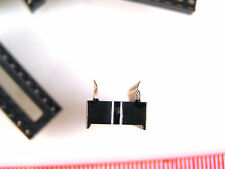 Standard Low Profile IC Sockets 20 Pin DIL 10 pieces Joggled  pin ends OM1017