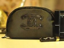 Chanel CC sequined small cosmetic Makeup bag Case VIP gift bag USA Seller