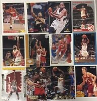 ATLANTA HAWKS 100 Different Card Team Lot MUTOMBO WILKINS HORFORD  + 1989-2015