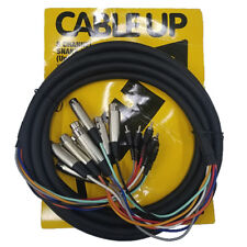 Cable Up CU/SU505 16' XLR Female to RCA Male Audio Snake (8-Channel)