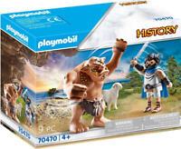 Playmobil History Set 70470 Ulysses and the Cyclops Polyphemus Greek Mythology