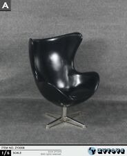 Zytoys Zy3008 1/6 Black Egg Chair Figure Scene Collectible