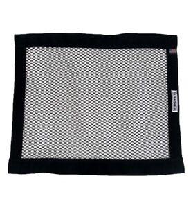 Ultra Shield Mesh Window Net for Racing, Stock Car Oval Autograss - Black