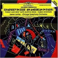 JAMES/CSO LEVINE - RHAPSODY IN BLUE/AN AMERICAN IN PARIS/+  CD NEU