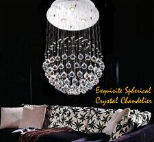Silver Chrome Crystal Ceiling Light Lighting Fittings Pendant Chandelier Lamp