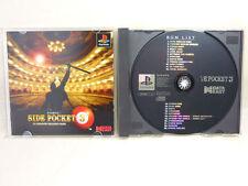 SIDE POCKET 3 3D Polygon PS1 Playstation PS Japan Import Video Game p1