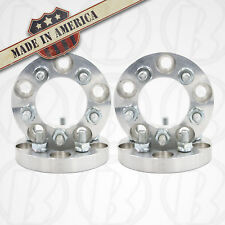 """4 USA MADE 5 Lug 4.5""""(114.3mm) To 5x4.5"""" Wheel Adapter Spacer 1"""" Thick 12mm1.25"""