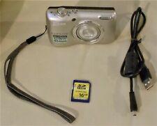 Nikon COOLPIX L26 16.1MP Digital Camera - Silver w/ 16 GB SD HC Card