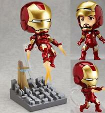 Nendoroid 284 Iron Man Mark 7 Hero's Edition PVC Figure Toy Gift