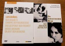 Luis Bunuel DVD Sammlung - Ein andalusischer Hund + Das goldene Zeitalter u.a.!!