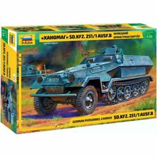 Zvezda 3572 Sd.Kfz.251/1 Ausf.B Hanomag /german armored personnel carrier/ 1/35