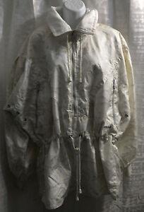 VTG Womens Snow Jacket White PETER STEINBRONN SPORT COUTURE size 40