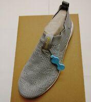 Womens Reebok SOCK DMX Memory Tech Lite Slip-On Sneaker Grey & White NEW Shoes