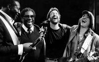 "GUITAR LEGENDS Stevie Ray Vaughan - Eric Clapton - BB & Albert King 16x20"" photo"