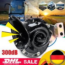300DB 12V Nebelhorn Lufthorn Druckluft Dual Horn Fanfare Hupe Für PKW LKW Boot