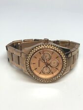 Fossil Rose Gold Tone Multifunction Quartz Watch ES3003
