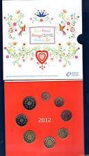 Coffret BU Portugal 2012 Tirage 20000 Exemplaires 8 pièces 1 ct à 2 euro