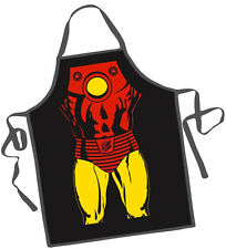 Marvel Iron Man Unisex Comics Character Adult Kitchen Apron One Size Fits All