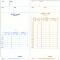 ATR121 OEM Time Card