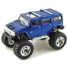 Kinsmart 2008 Hummer H2 SUV Off Road Big Foot Diecast Car 1:40 KT5337DB Blue