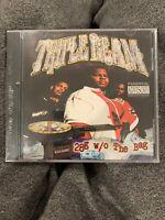 Triple Beam: 28G W/O The Bag Brotha Lynch Keak Mr. Doctor Black Market CD New!!